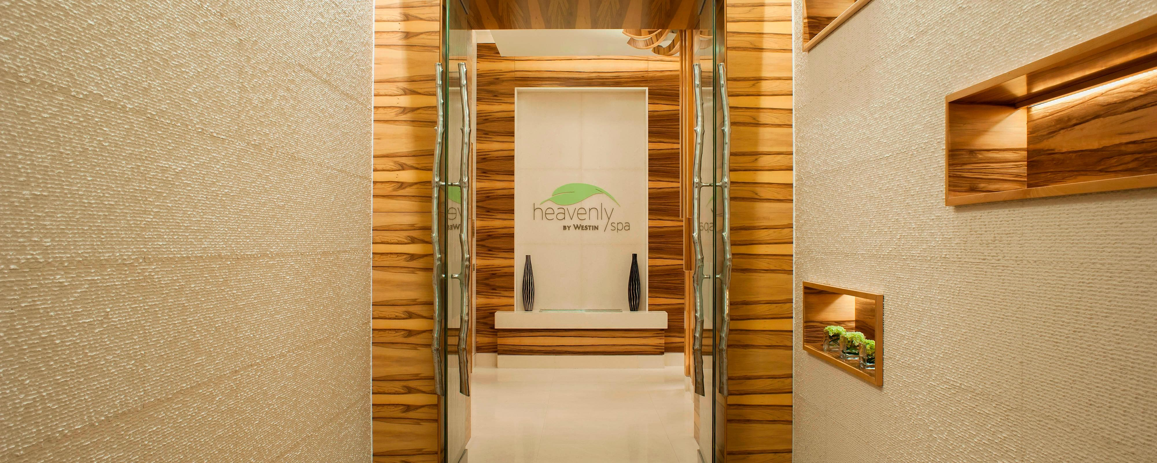 Heavenly Spa - Entrance