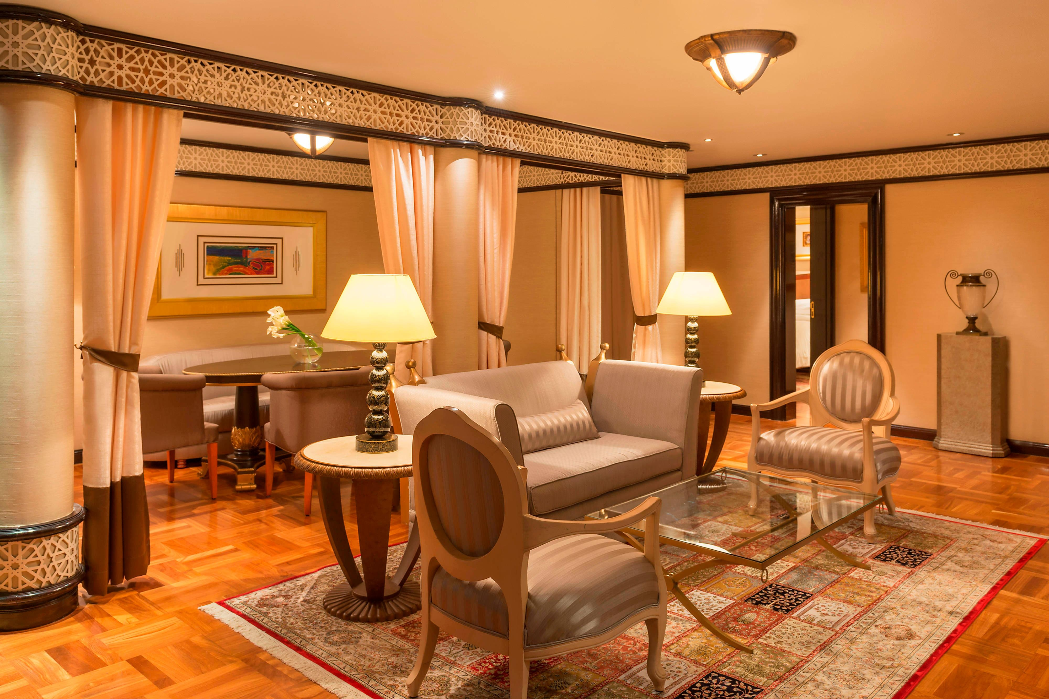 Diplomatic Suite - Living Room
