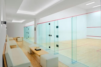 St Regis Athletic Club Squash court