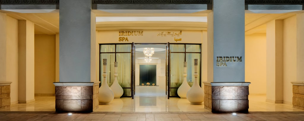 Iridium Spa Entrance
