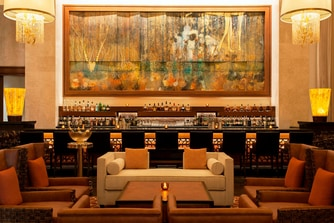 The Manhattan Lounge - Mural