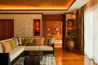 جناح طاهي سبا - غرفة المعيشة