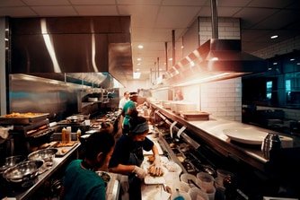 Caroline Open Kitchen