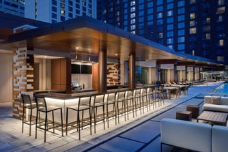 austin rooftop pool bar