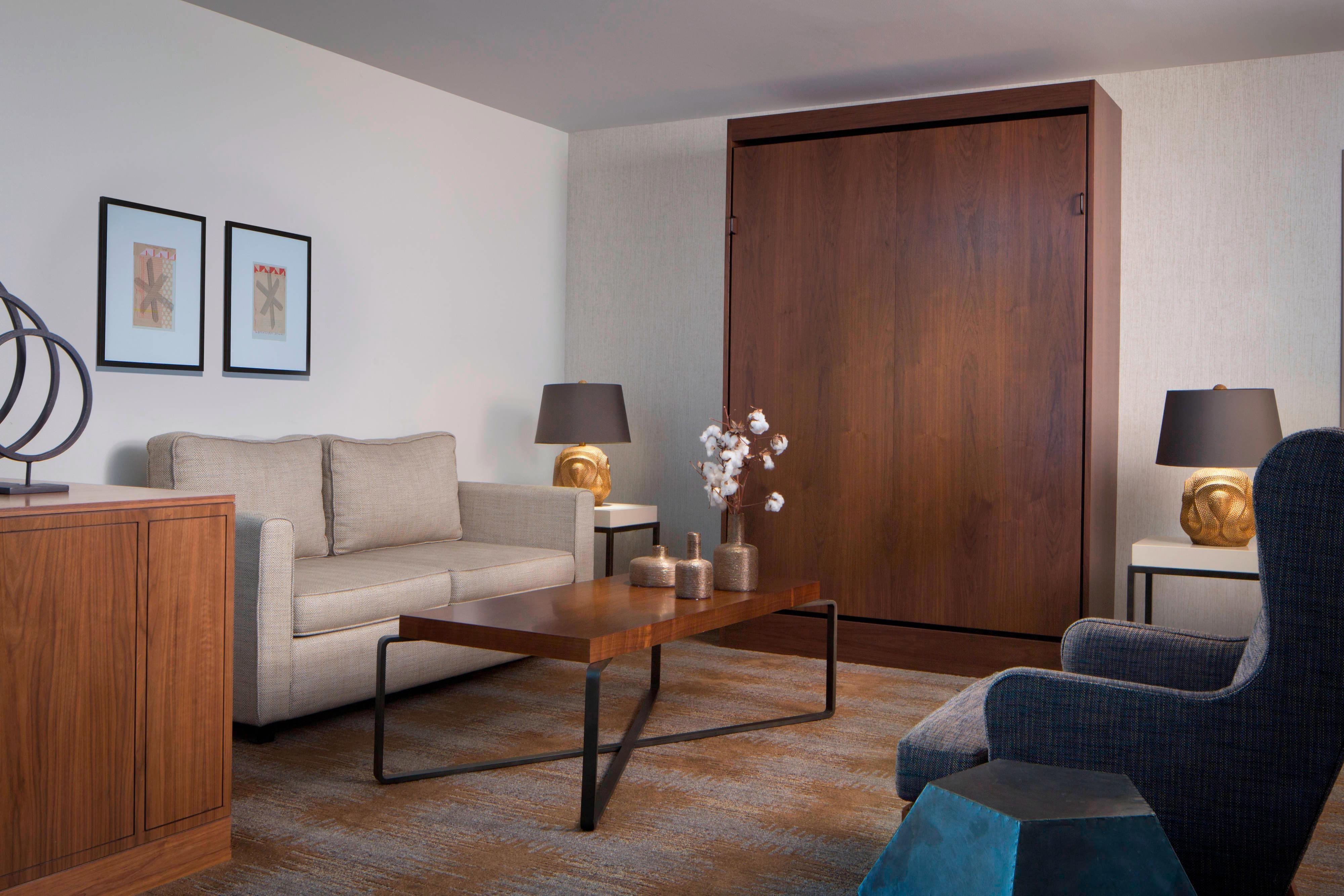 Suíte Hospitality - Área de estar