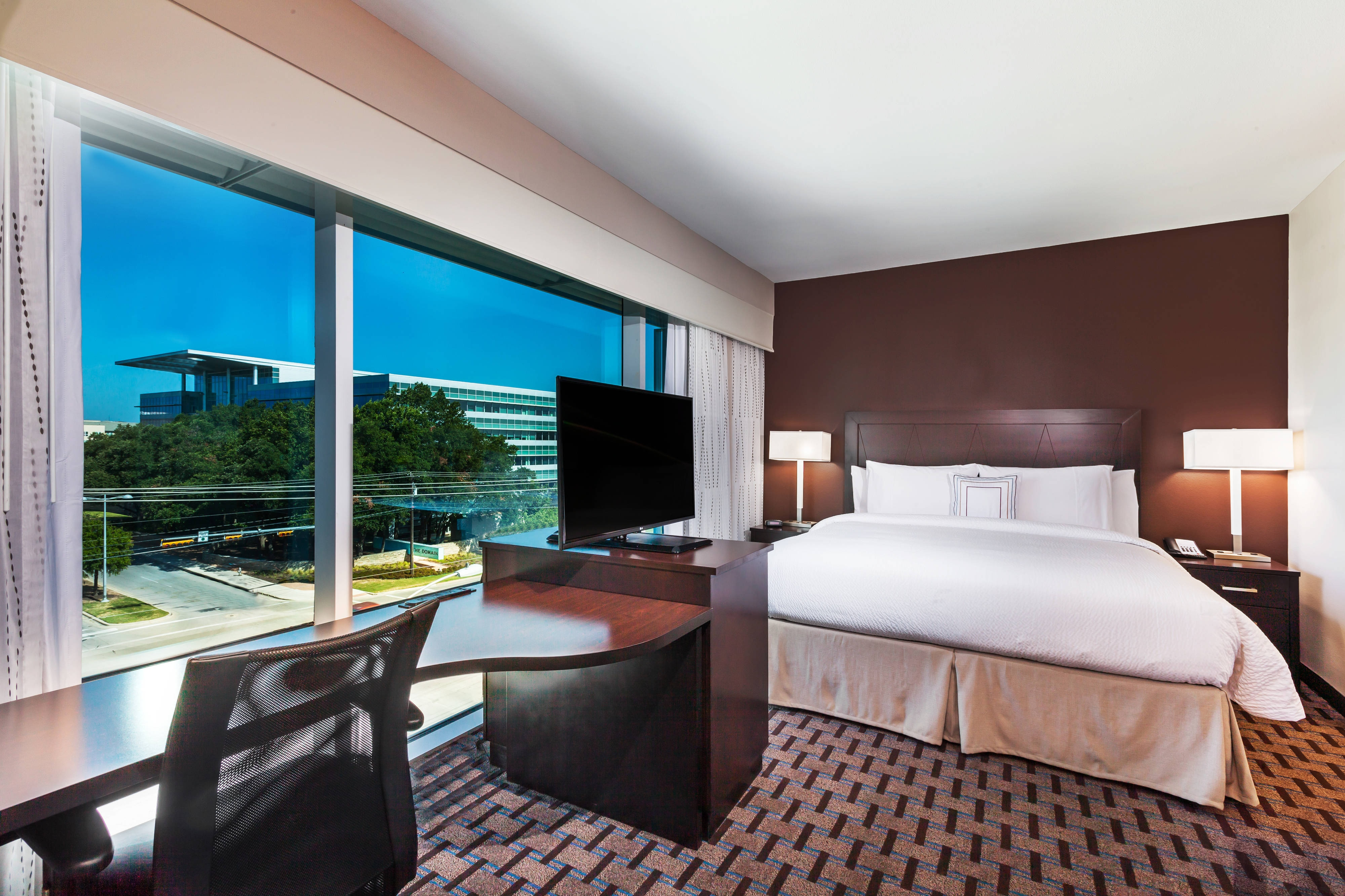Suite King con vistas a la ciudad