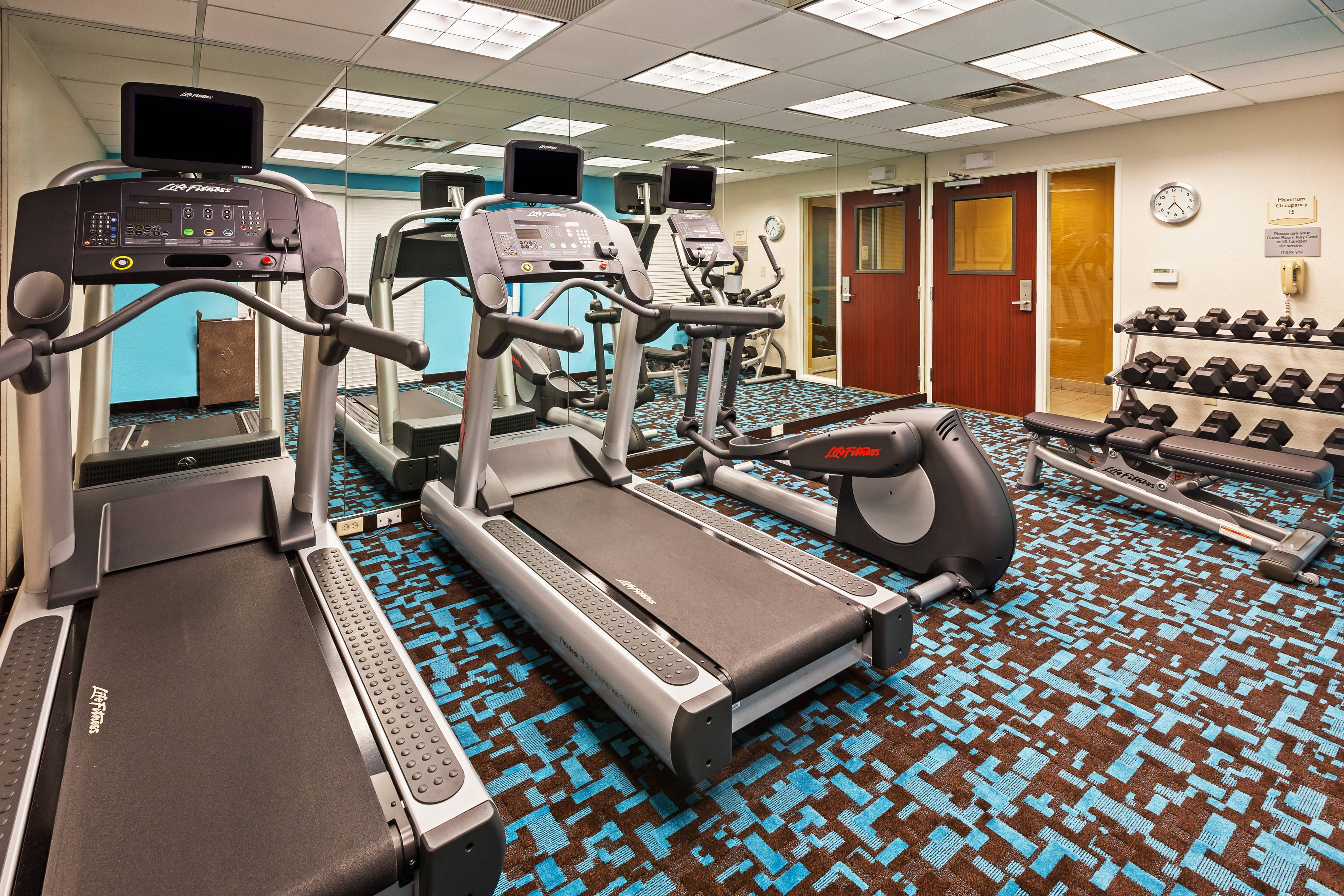 Austin Texas Hotel Fitness Center