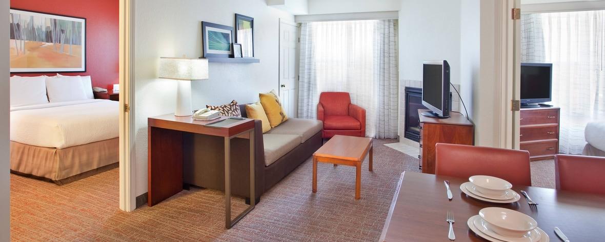 ラウンドロックのホテルの客室