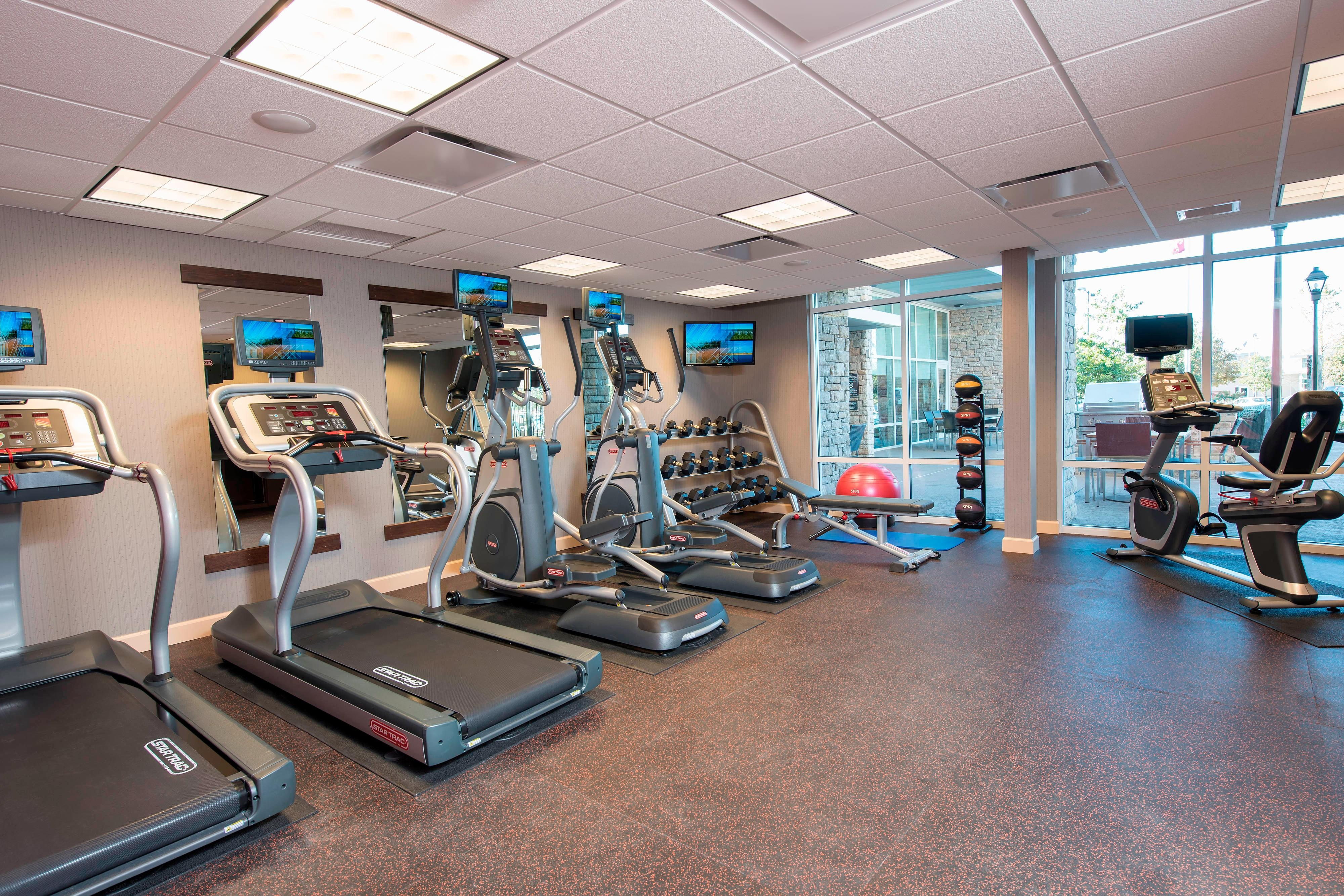 Fitness Center - Residence Inn Austin-University Area