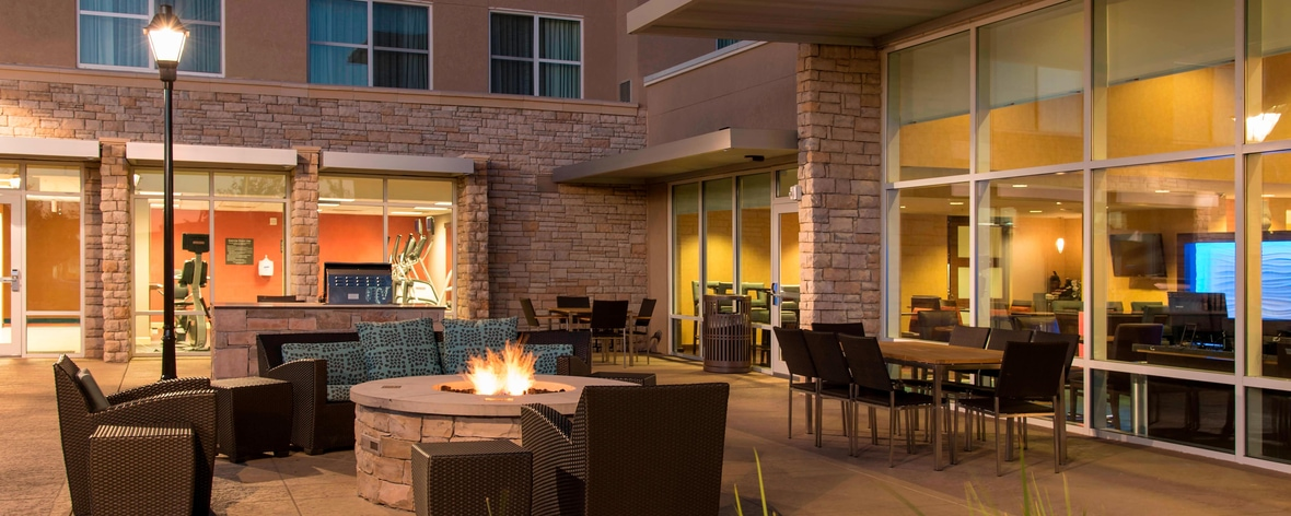 Außenpatio – Residence Inn Austin-University Area