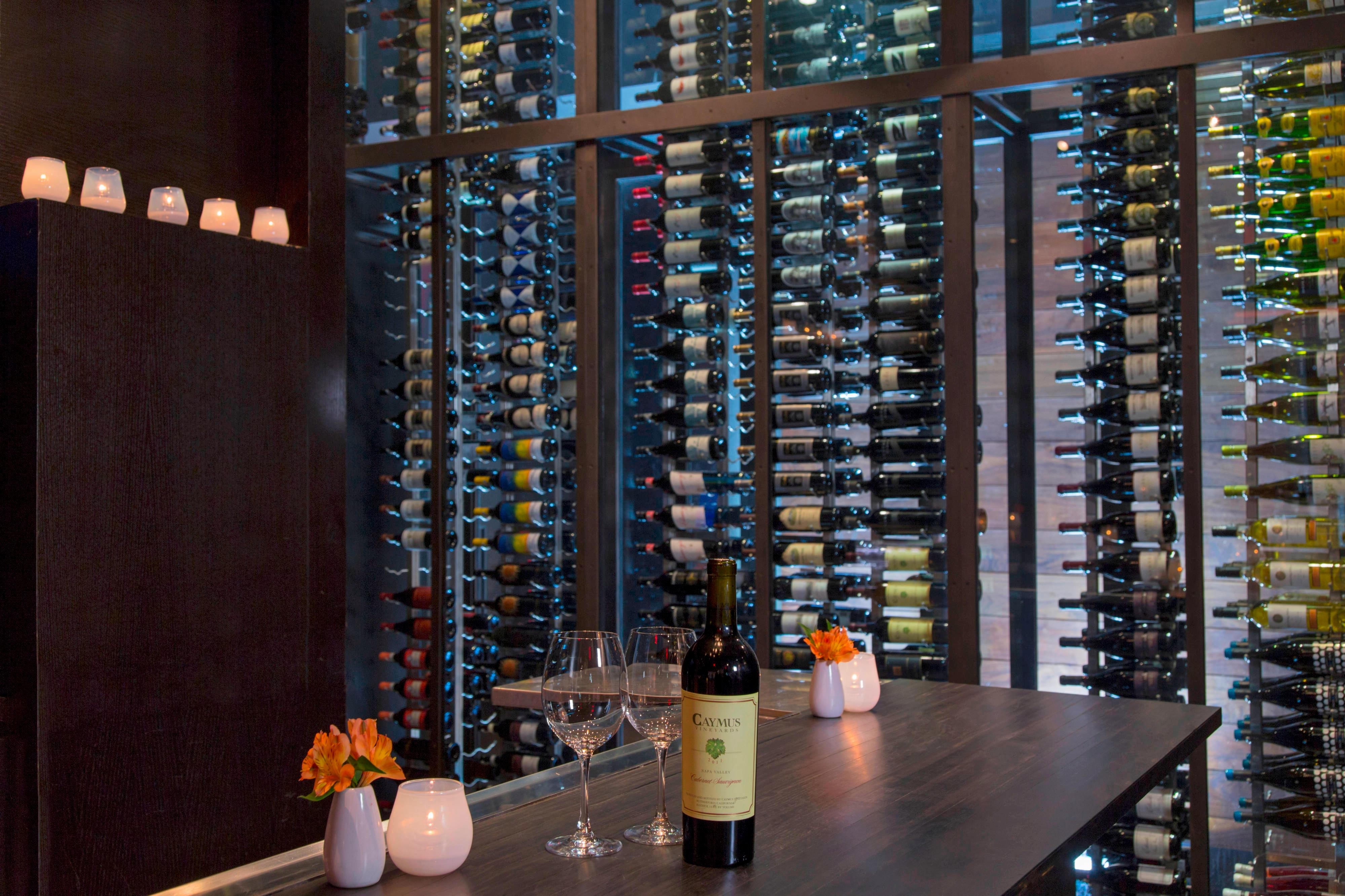 Trace Wine Wall