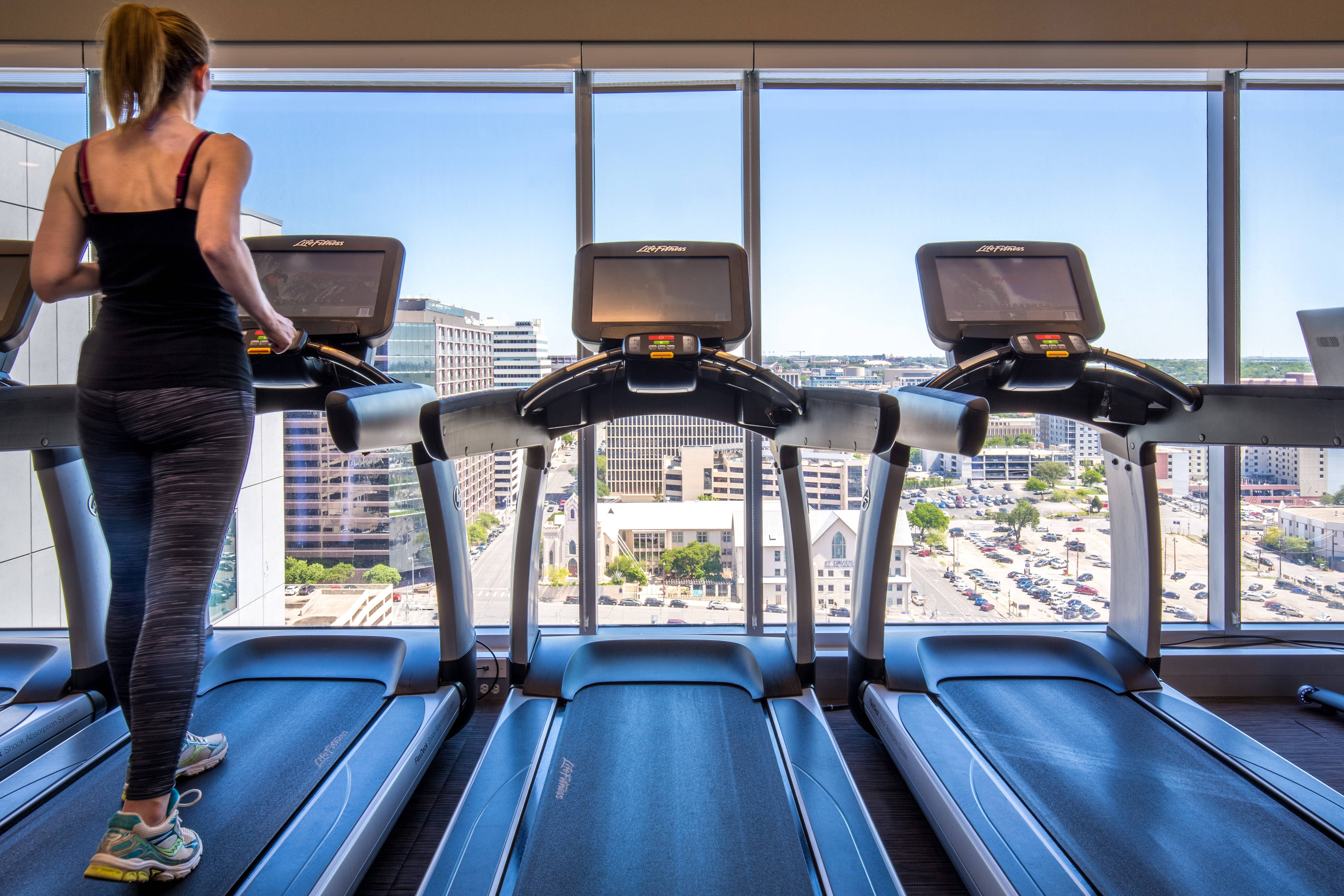 Fitness Center - Cardio Machines