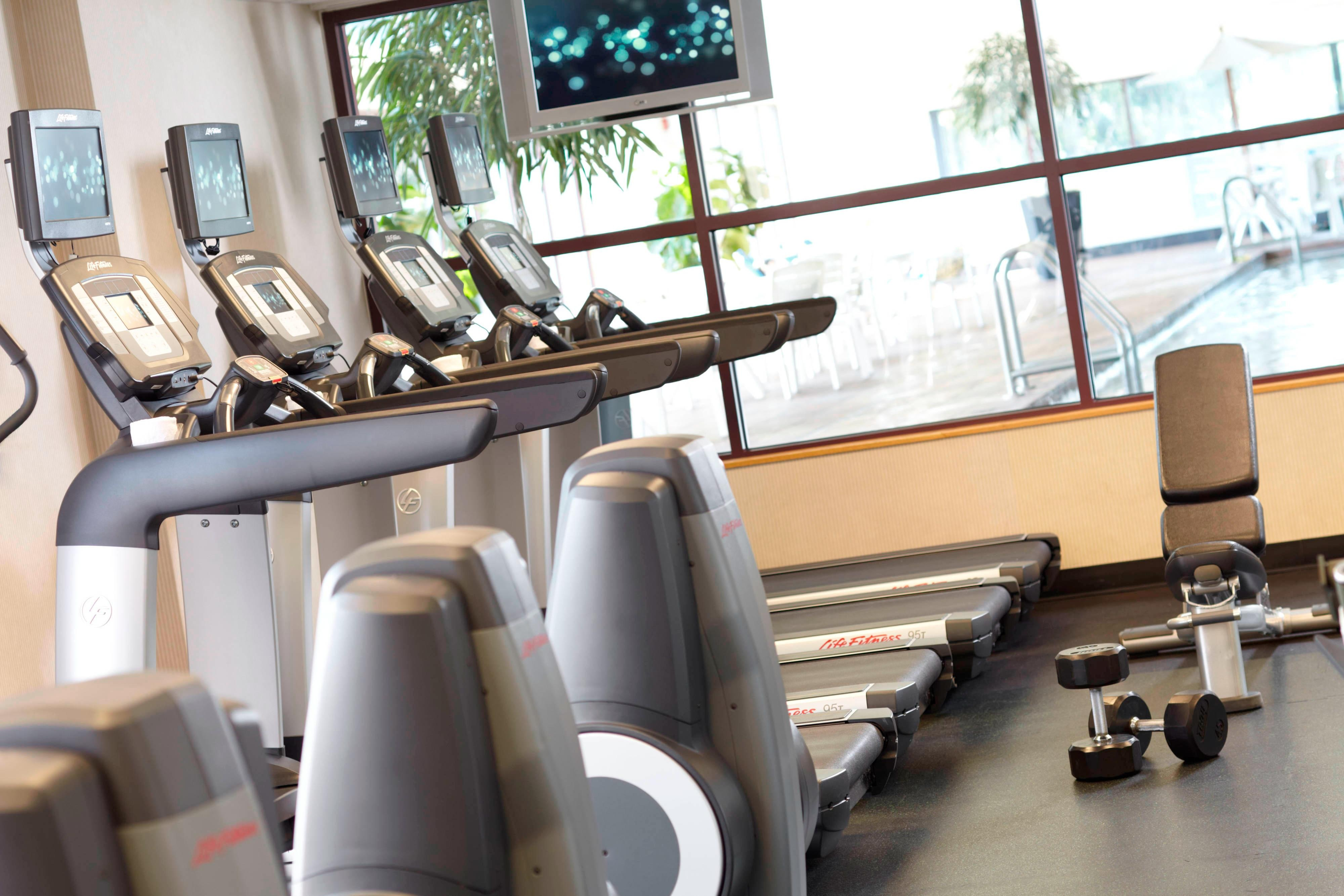 Fitness Center - Renaissance Asheville Hotel