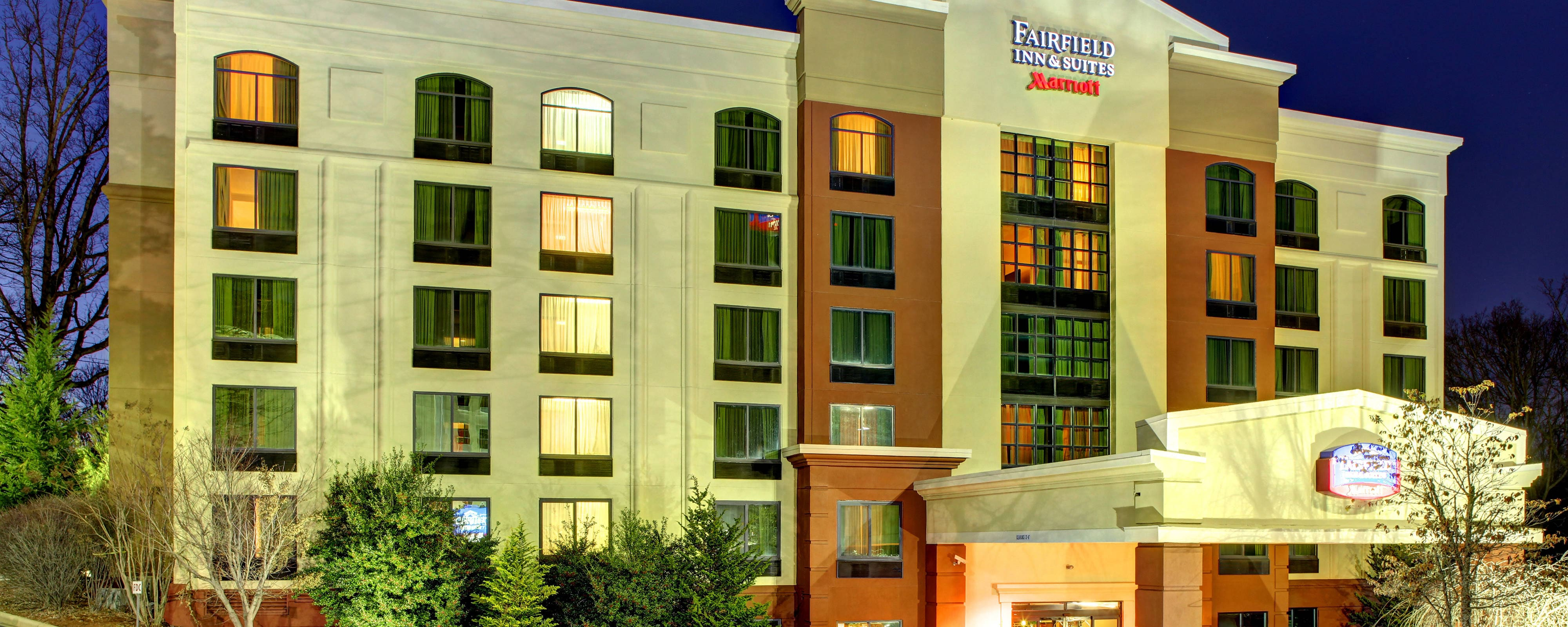Maps and directions to Fairfield Inn & Suites Asheville/Biltmore in Downtown Asheville Hotels Map on