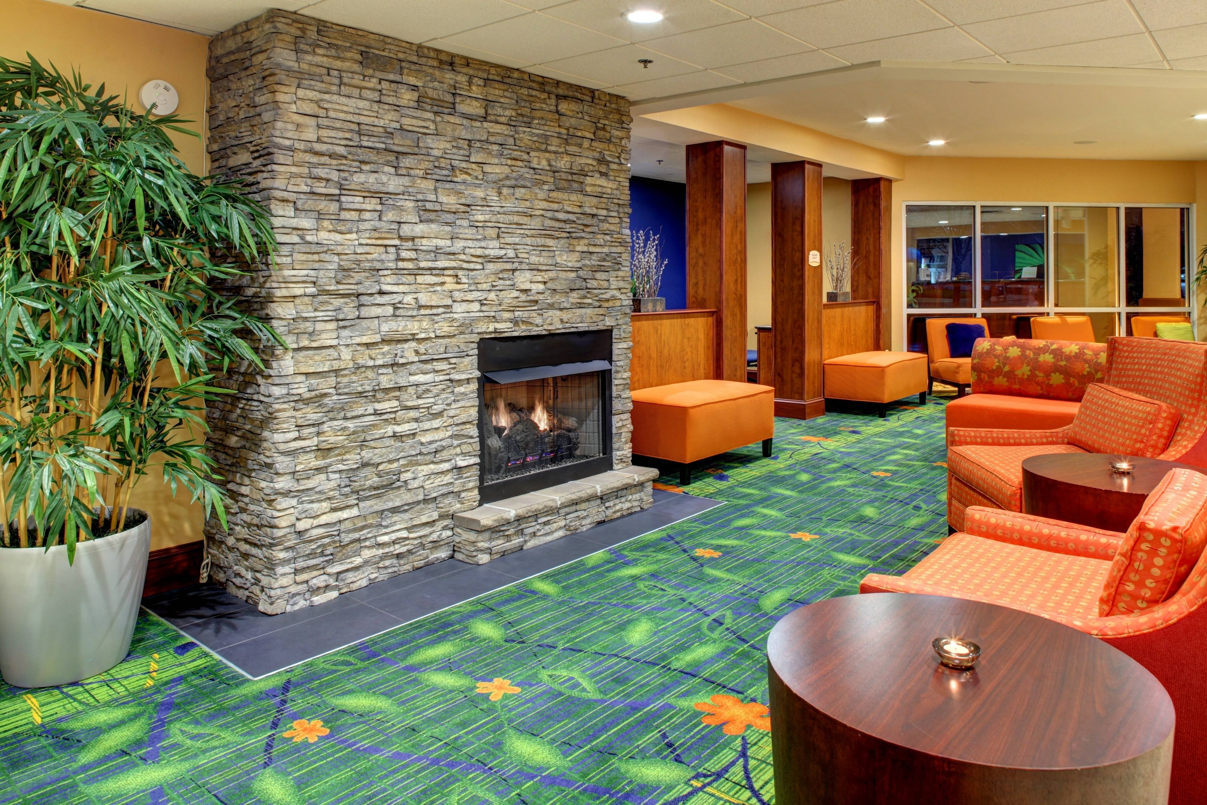 Asheville Airport Hotel Lobby