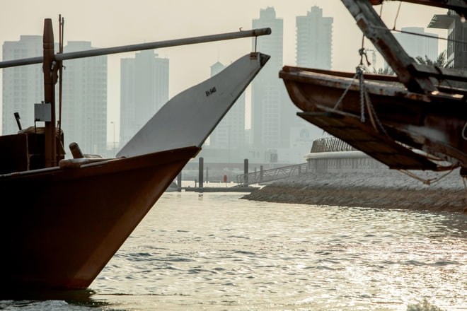 The Dhows - Traditional Fishing Boats