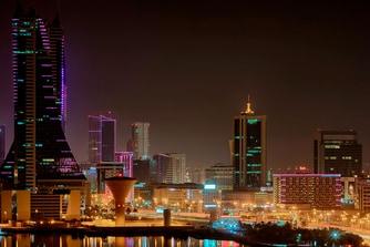 Bahrain NightSkyline