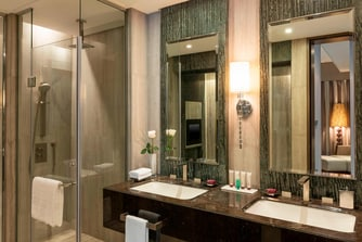 Suite - Bathroom with Rain Shower