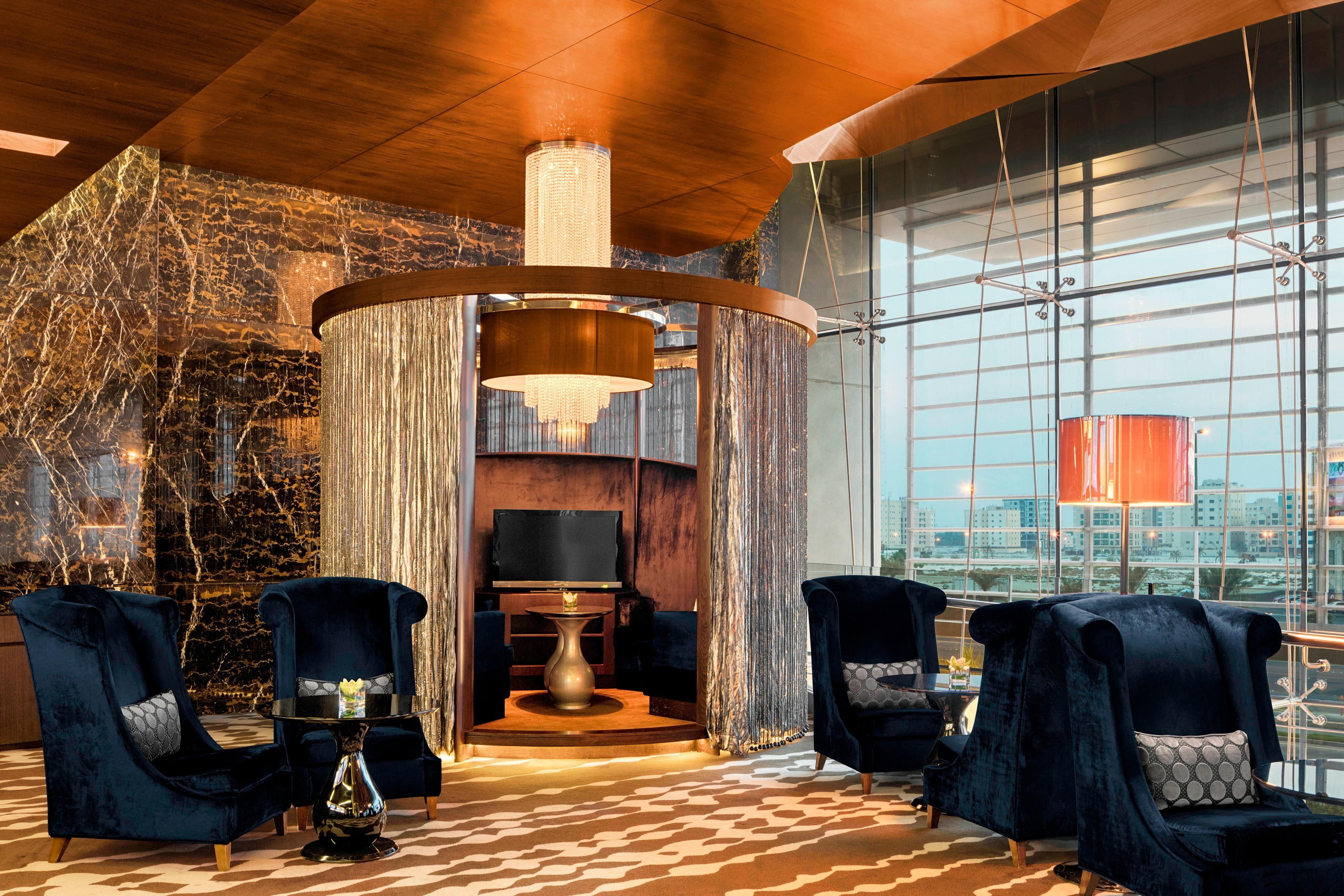 Mezzanine Lounge Pods