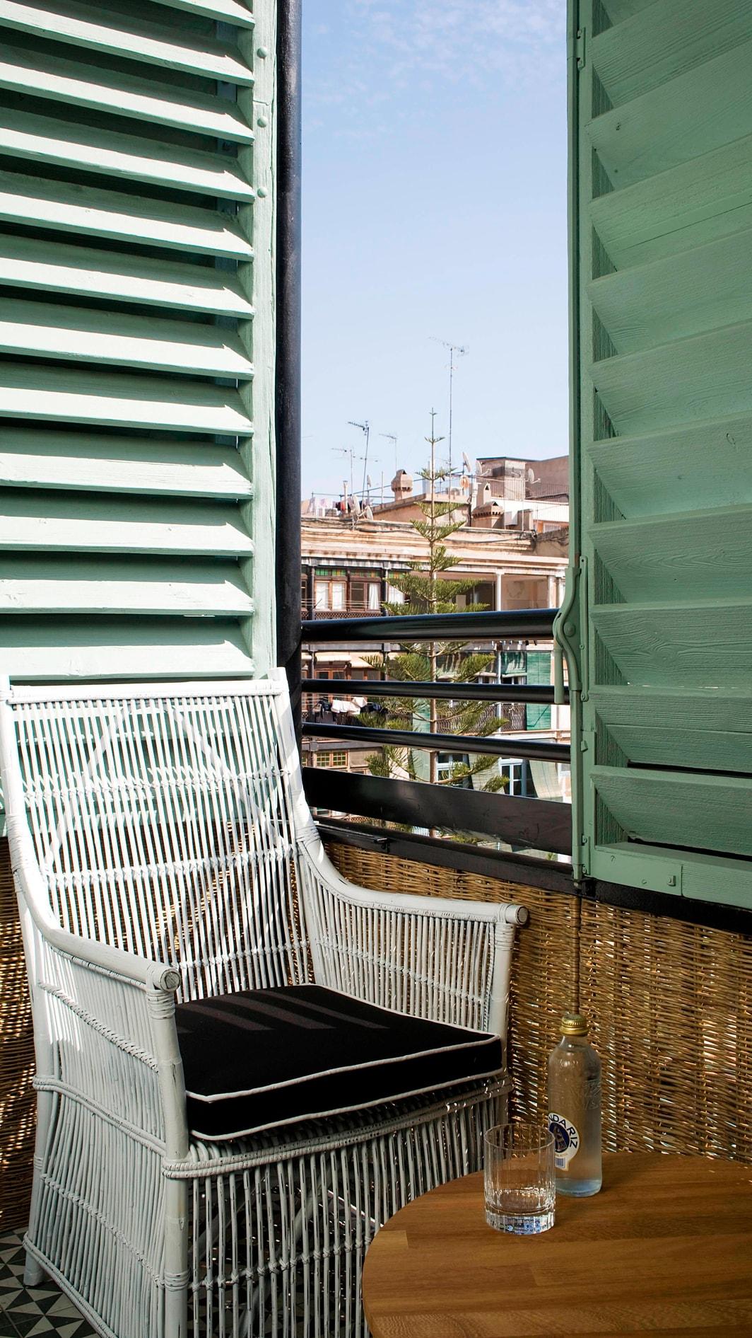 Cotton Gästezimmer – Ausblick
