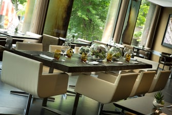 Barcelona hotel event dining area