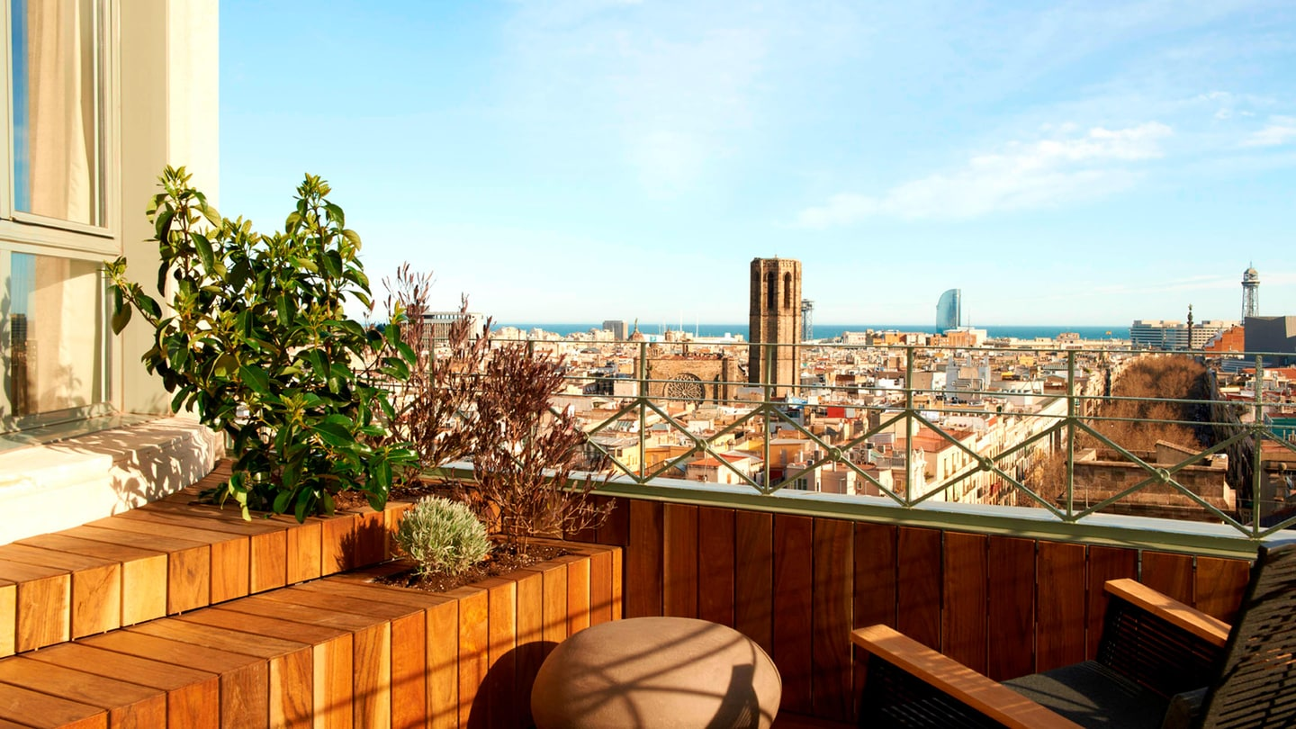 Suite Panoramic : terrasse