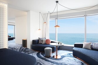 Cool Ecksuite– Wohnzimmer
