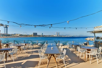 Salt Beach Club Terrace & Views