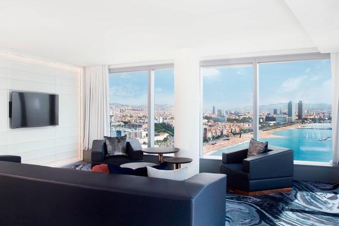 Suite Marvelous - Salle de séjour