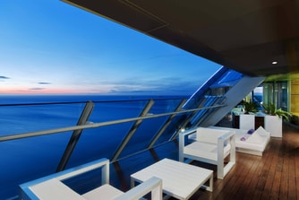 Suite Extreme WOW, terraza