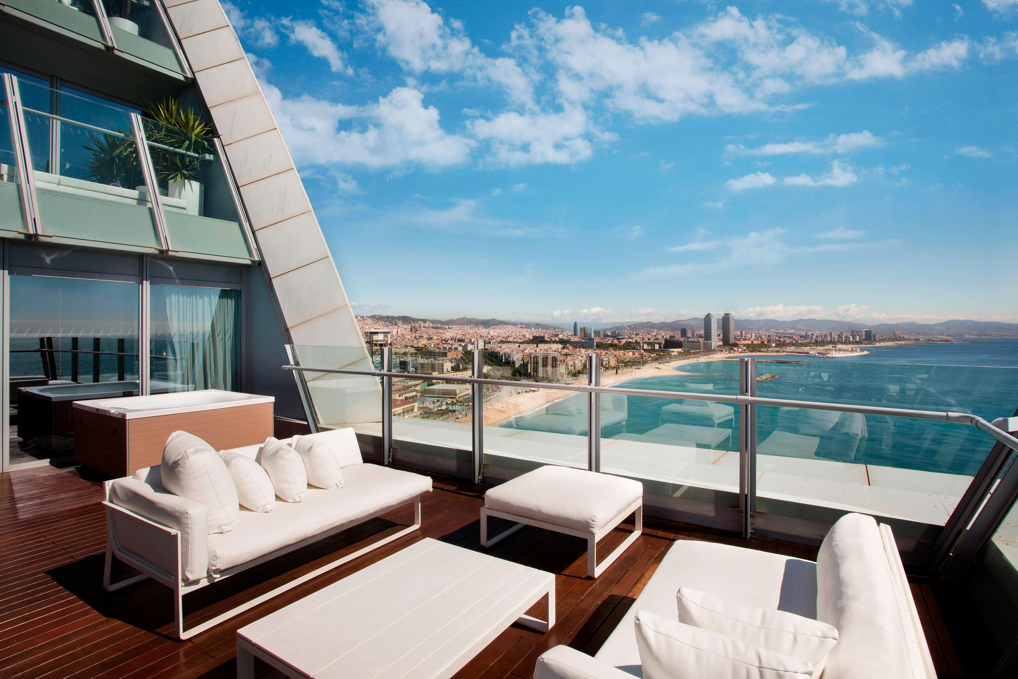 Spectacular Suite - Terrace and City Views of Barcelona