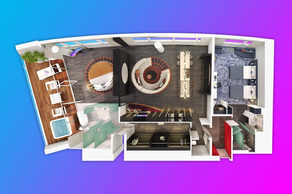 WOW Suite Floorplan