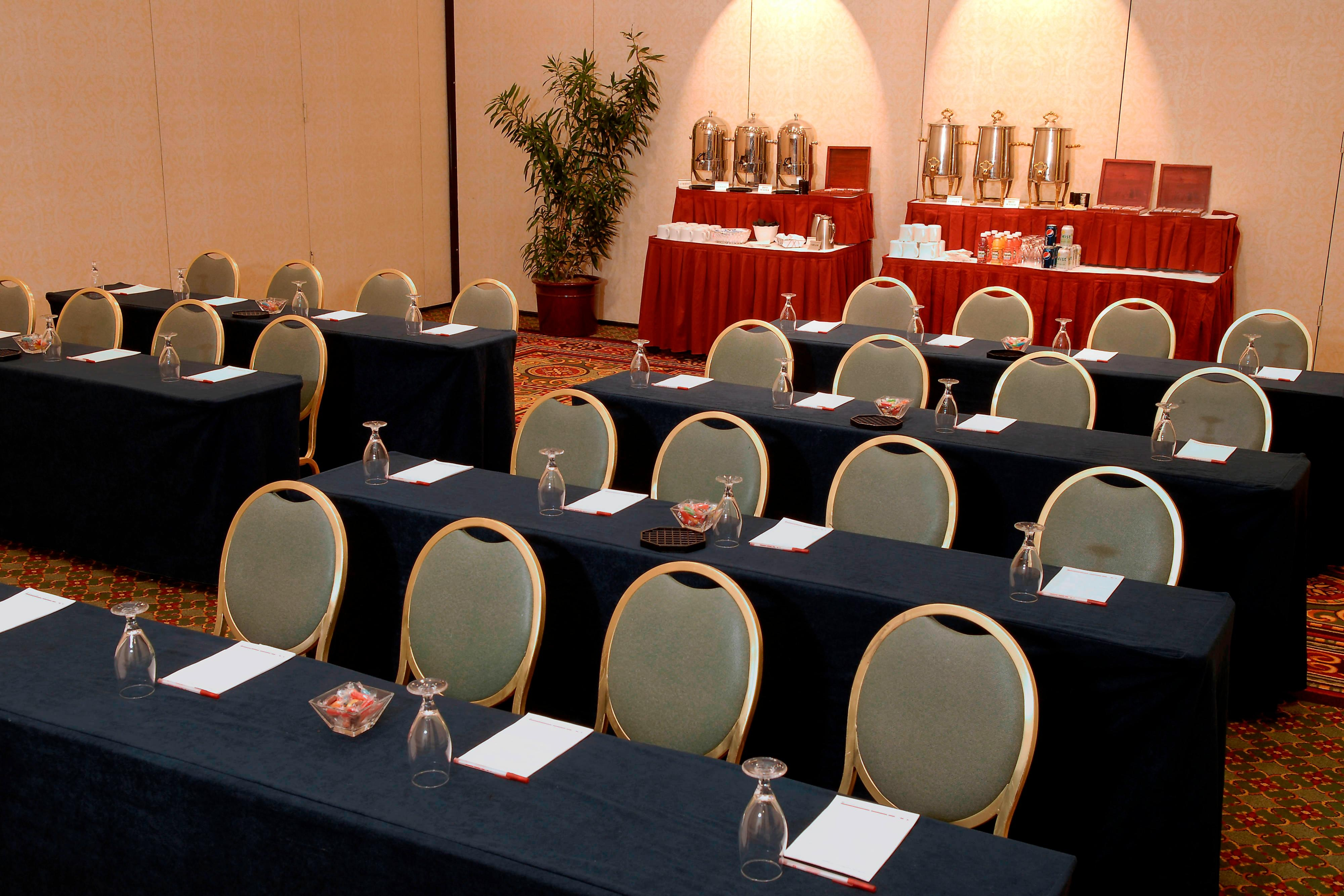 Meeting space in Farmington hotel
