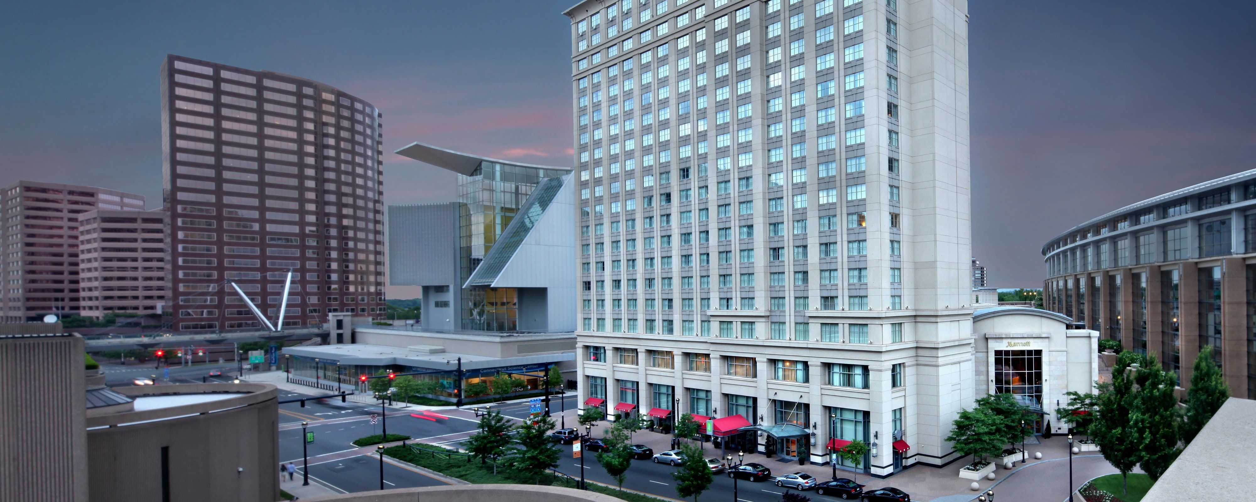 Downtown Hartford Hotels Hartford Marriott Downtown Connecticut Convention