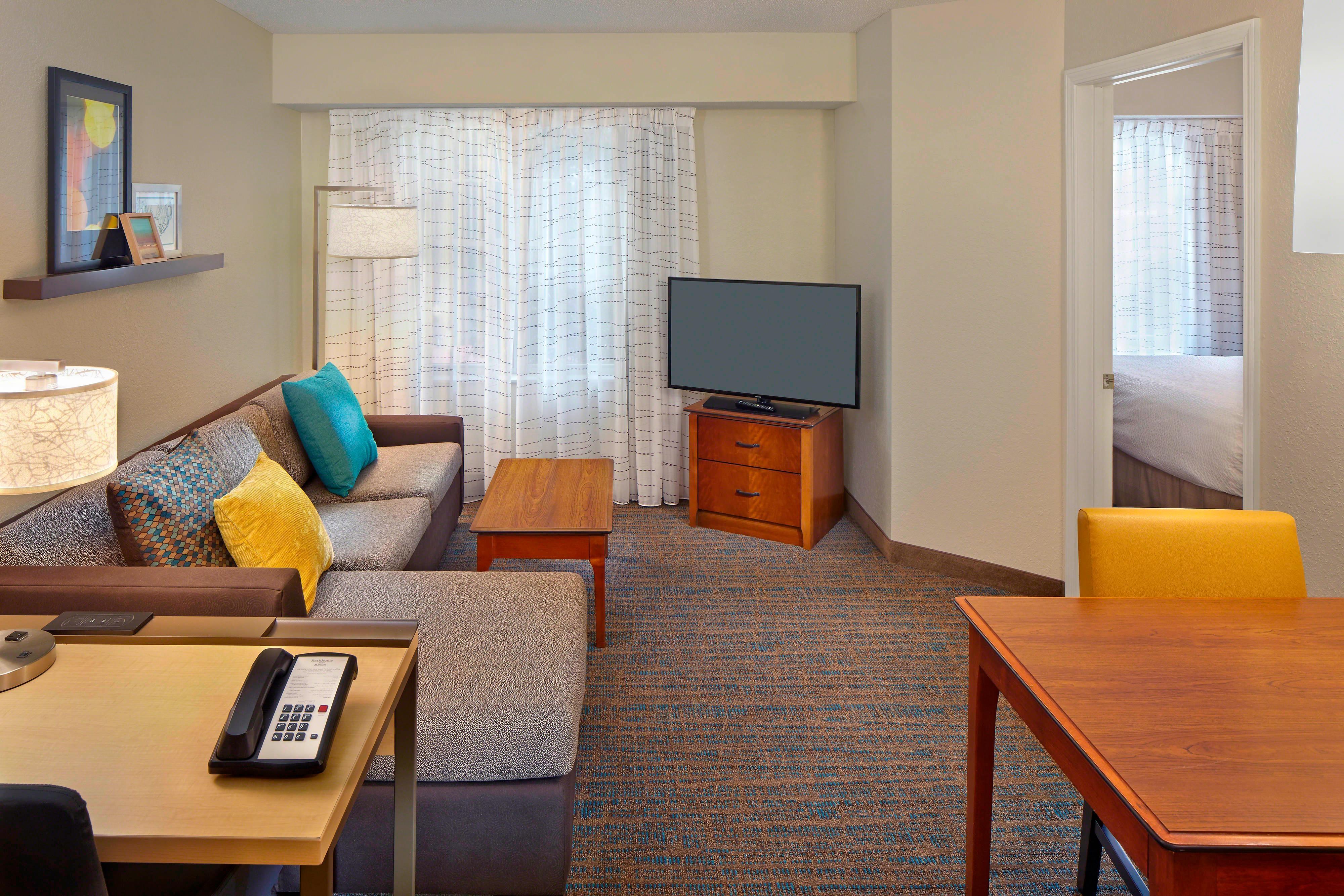 Suite mit einem Schlafzimmer – Wohnbereich