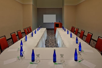 Waterford Meeting Room – U-Shape Setup