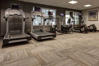 Hadley - Amherst hotel fitness facilities.