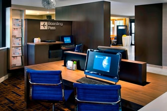 Bradley Airport Hotel Business Library