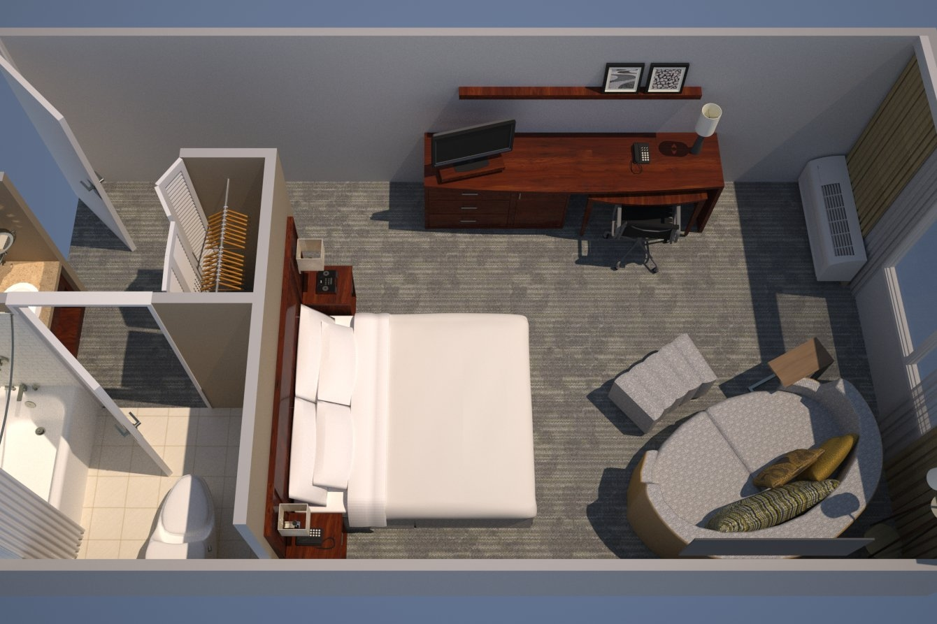 Guest Room, 1 King, Sofa Bed // Upgraded Guest Room, 1 King, Sofa Bed