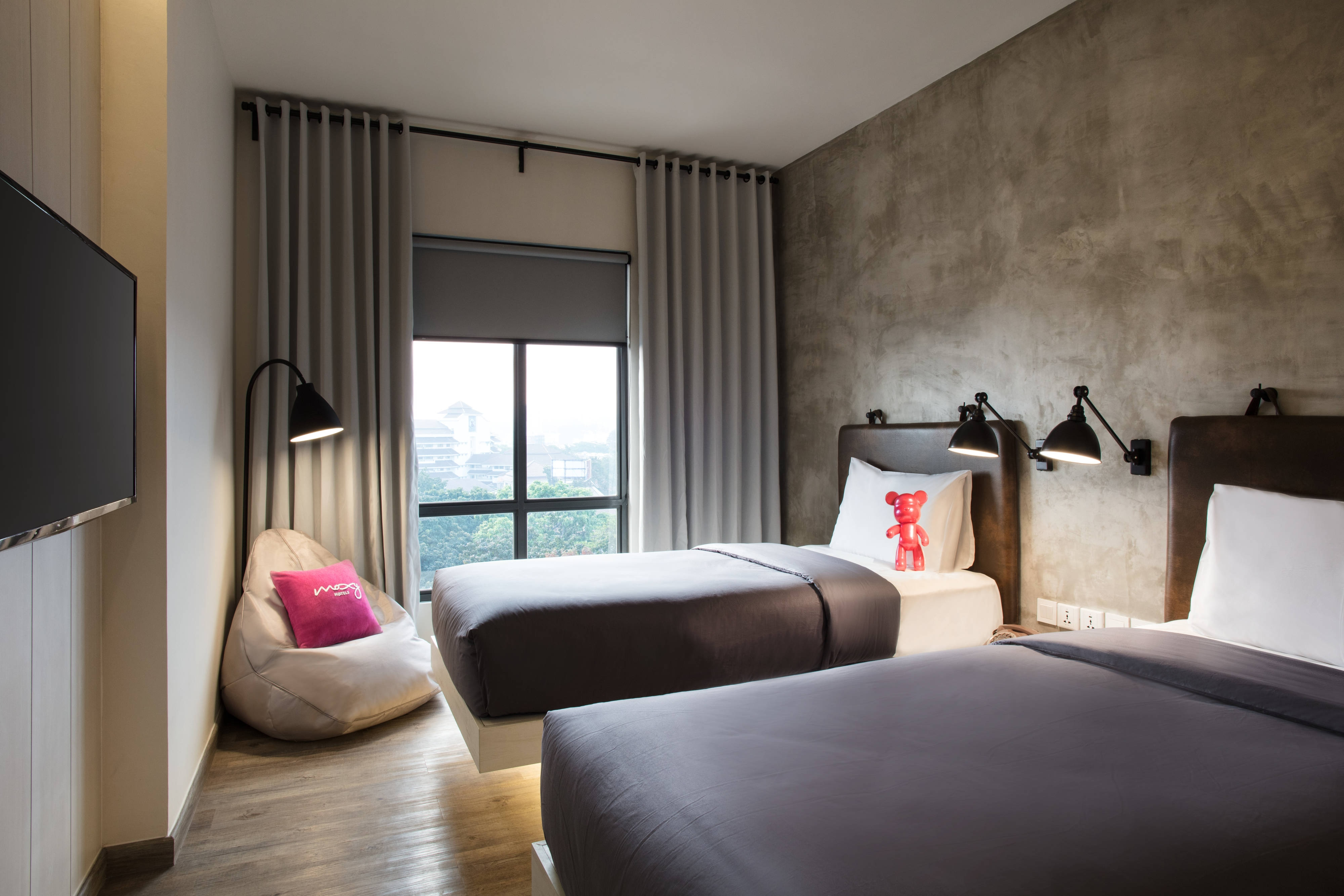 Boutique Hotel In Bandung Indonesia Moxy