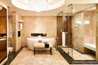 Presidential Suite - Bathroom-Bathtub