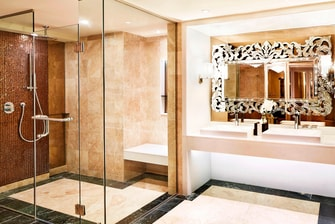 Presidential Suite - Bathroom-Shower