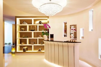 Shine Spa Counter