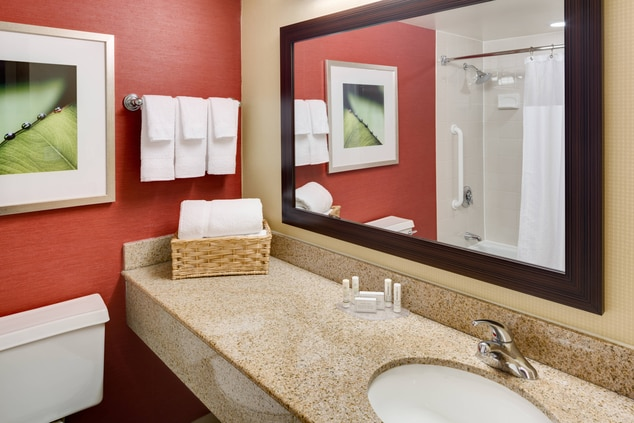 Hotel Guest Bathroom