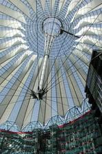 Sony Center près de Potsdamer Platz