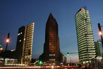 Potsdamer Platz near Courtyard Berlin