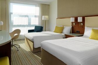 Deluxe Zimmer mit zwei Einzelbetten