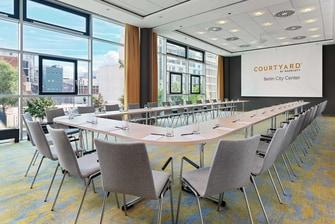 Courtyard Berlin City Center– Meetingraum Hamburg