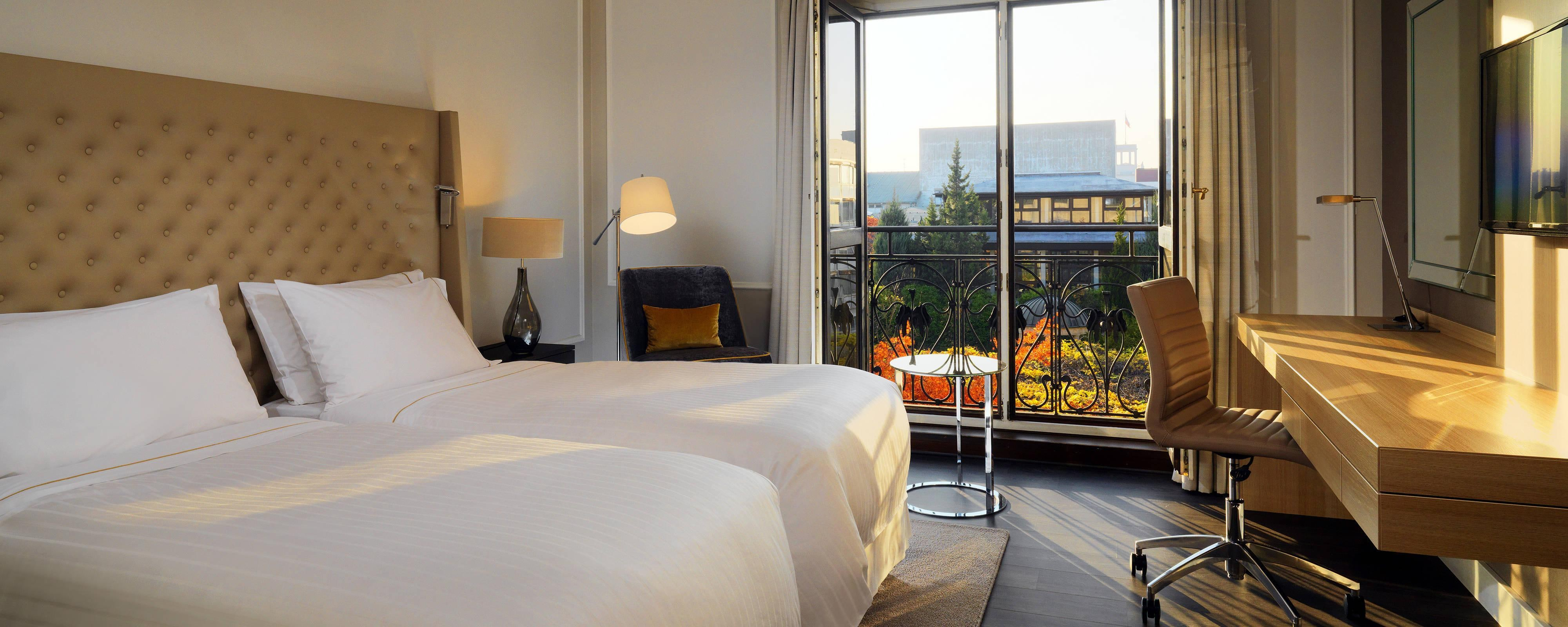 Enjoy a quiet stay in Berlin Mitte in a Garden Deluxe room