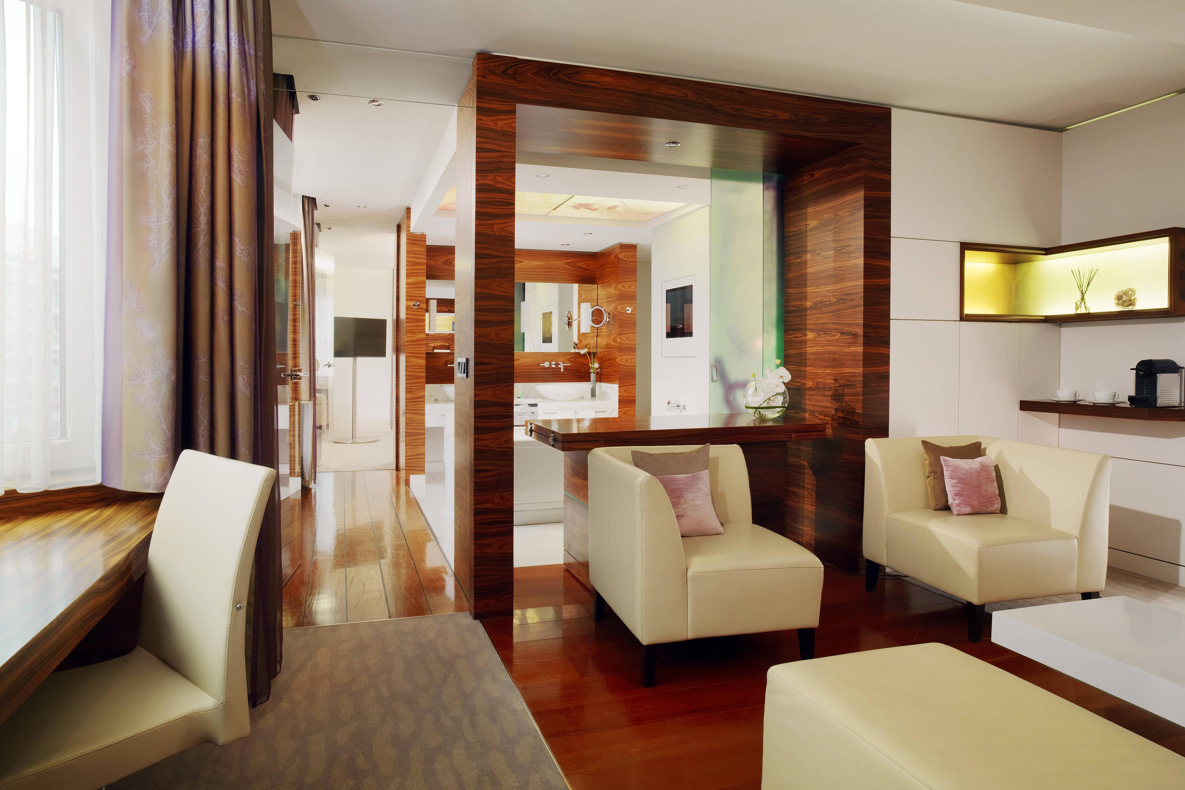 Your suite in Berlin - Spa suite at the Westin Grand hotel Berlin